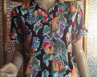 80s Fruit Art Shirt