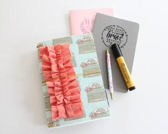 all for His glory [#kateandaprilconspire]  -- fauxdori traveler's notebook
