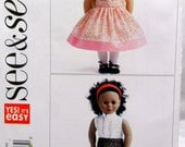 Butterick See & Sew 5553 18 inch Doll Clothes New