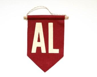 University of Alabama Mini Felt Banner