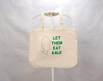 FREE US SHIPPING - Let Them Eat Kale, Tote Bag