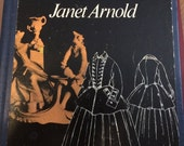 A Handbook of Costume by Janet Arnold Costume Design Historical Fashion SCA Theatre Theater Stage Fashion Book Cosplay Reenacting Performing