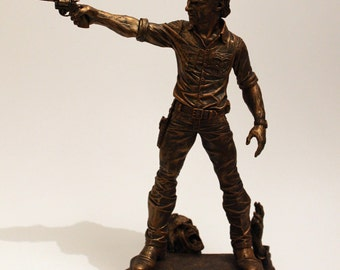 Rick Grimes One of a Kind Caricature Statue