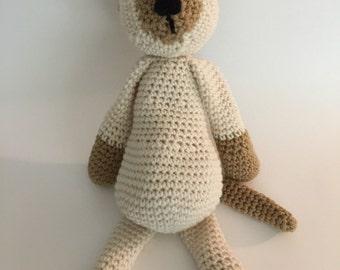 Crochet Amigurumi Siamese Cat Plush
