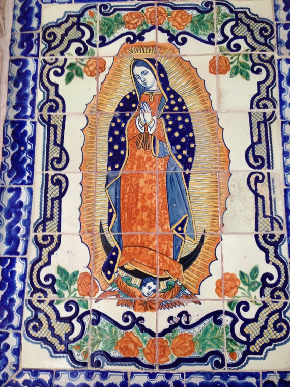 "Virgen de Guadalupe - San Miguel de Allende, Mexico (5"" x 7"" photographic greeting card - blank inside/with envelope)"
