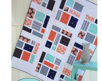 PDF Quilt Pattern Instant Download Memory Lane by Sew You Like It