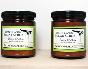 Two Hand Candy Sugar Scrub Gift Set, Sugar Scrub, Hand Scrub