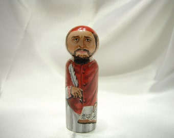 Saint Robert Bellarmine - Catholic Saint Doll - made to order