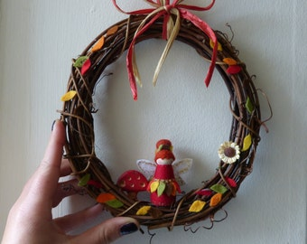 Autumn Fairy Wreath (Indoor)