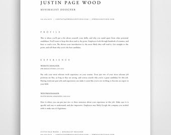 professional resume template resume template mac resume template word modern resume template