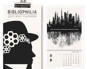 2016 Calendar, Literary Gift, Desk Calendar, Bookish Quotes