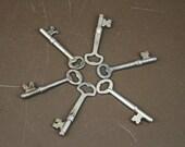 Vintage Skeleton Keys (Lot of 6)