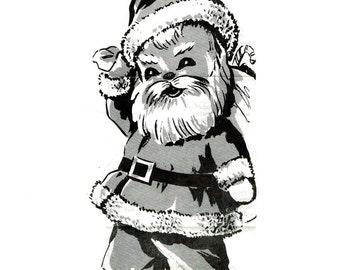 Vintage 1950s Santa Claus Sock Doll Pattern pdf  Mail Order 5929