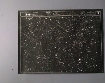 Large (Unmounted) Star Chart