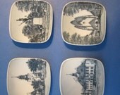 Your Choice - B&G Copenhagen Porcelain - Miniature Kjeld Bonfils Dish - Danish Landmarks