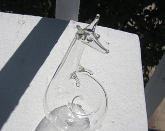 Whimsical Kangaroo - Blown Glass Figurine