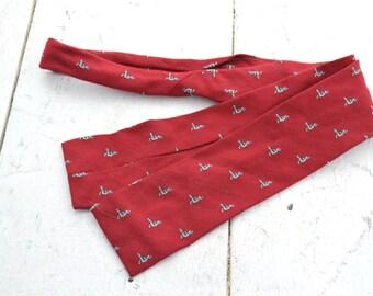 1980s Duck Bow Tie