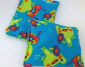 Rockin Frog - Boo Boo Hot / Cold Pack - Frog, Blue, Green, Records, Music