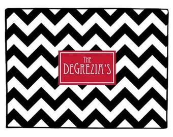 Personalized Door Mat, Monogrammed Doormat, Custom Door Mat, Personalized Doormat, Monogrammed Door Mat, Custom Doormat, Chevron Door Mat