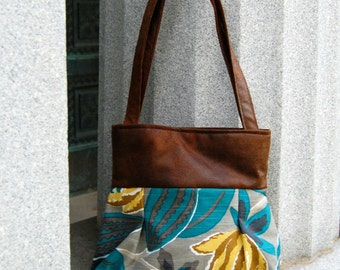 Handcrafted purse.