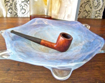 Vintage Smoking Pipe Imported Briar Atlas Powder Co Mans Pipe Smoking Accessory Tobacco Pipe Vintage 1950s