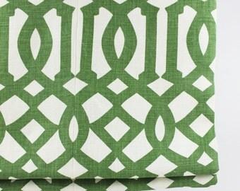 Schumacher Kelly Wearstler Imperial Trellis Roman Shade (shown in Treillage... comes in 11 Colors)