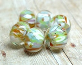 lampwork beads... SRA handmade, encased classic frits (pandora) set for making jewelry MaDE tO oRDer 100515-2