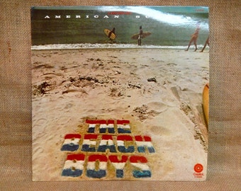 The Beach Boys - American Summer - 1975 Vintage Vinyl 2 lp Gatefold Record Album