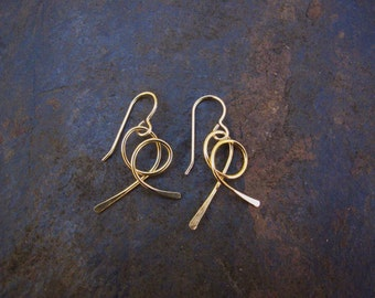 Curly Twist Earrings