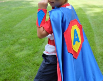 Personalized Toddlers Superhero Cape