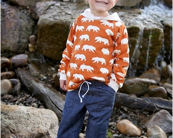 Rough n' Tumble Pants Sewing Pattern: Kid's Joggers Pants PDF Sewing Pattern
