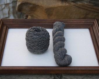 Royal Baby Alpaca Yarn Worsted Weight Natural Gray 100 grams