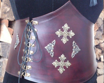 Mord Sith Inspired Leather Waspie