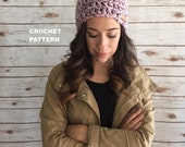 Everyday Classic Beanie Hat Pattern, Crochet PDF Instant Download