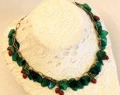 Wild Strawberry Vine Necklace
