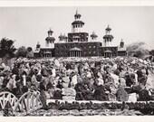 Petersen's Rock Garden- 1950s Vintage Photograph- Between Bend and Redmond, Oregon- Real Photo Postcard- Kodak RPPC- Paper Ephemera