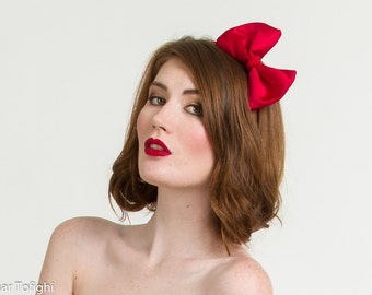 Snow White Red Bow Headband