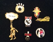Vintage Bowling Pin Collection Jewelry San Francisco East Bay Area QTY - 7 ONLY ONES