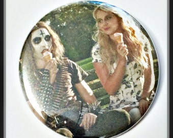 """Deathgasm - Large 2 1/4"""" Pin Back Button"""