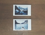 instant film photo set >> Moraine Lake