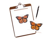 Monarch Butterfly | Art Print