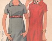 Bust 38-1960's Misses' Dress Butterick 4824Size 16