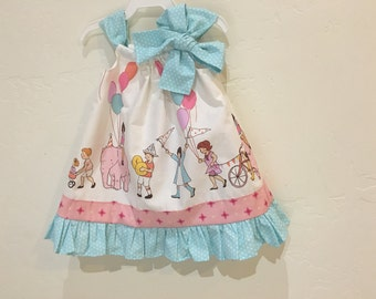 Baby Girl Toddler Children at Play Dress