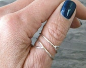 Sterling silver criss cross ring, womens silver x cross ring, serendipity jewelry