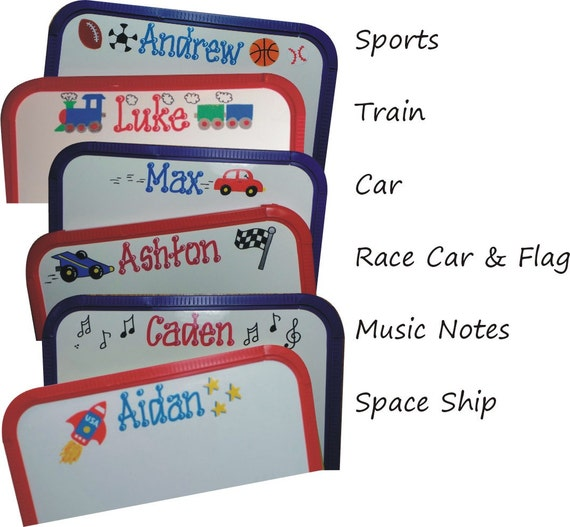 Personalized Wipe Board with Marker -  Giftwrapped - White Board - Wipe Board - Dry Erase
