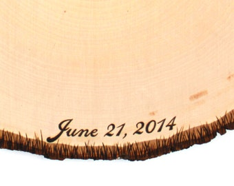 Add-On SCRIPT Text Quote Writing to any wood slice.
