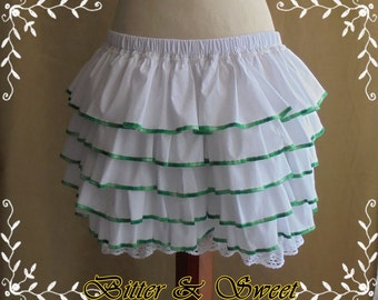 Bloomers with ruffles 25 asorted colors-XS-S-M-L-XL-XXL -Lolita -Steampunk -Burlesque -Can Can -Circus -(Bitter & Sweet)