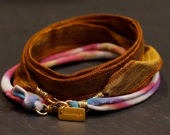 Rainbow 3/Warrior Wrap/bracelet/necklace
