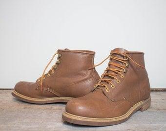 13 M | Iron Age Round Toe Chukka Work Boots