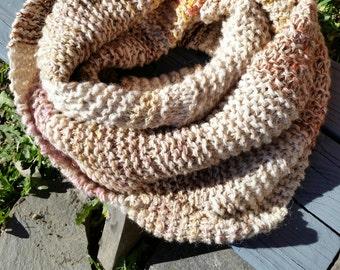 Knit Blanket Scarf #4